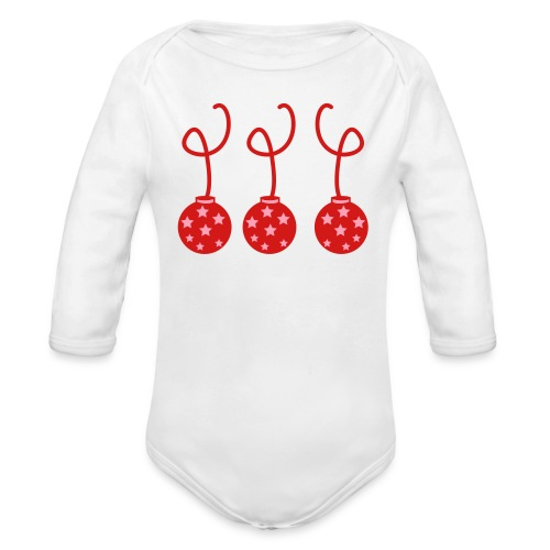 Ornatee - Organic Long Sleeve Baby Bodysuit