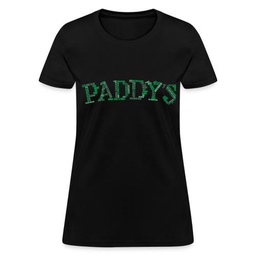 Paddy's Word Cloud CENSORED - Women's T-Shirt