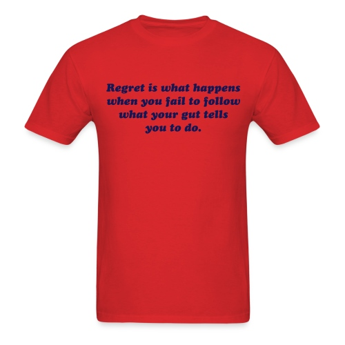 Regret - Men's T-Shirt
