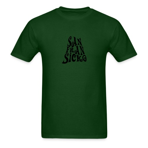 San Fransicko (green) - Men's T-Shirt