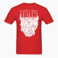 Happy New Beards 2014 T-Shirts
