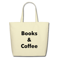 Bags & backpacks ~ Eco-Friendly Cotton Tote ~ Books & Coffee Tote