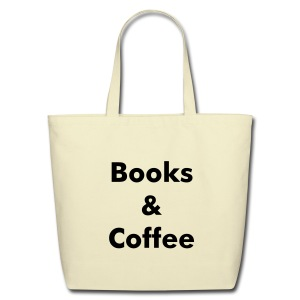 Books & Coffee Tote - Eco-Friendly Cotton Tote