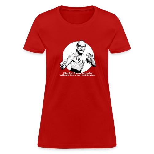 Bruce Schneier Fact - Women's T-Shirt