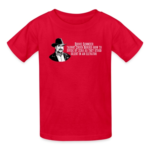 Bruce Schneier Fact - Kids' T-Shirt