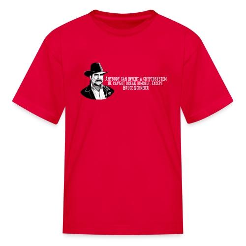 Bruce Schneier Fact - Kids' T-Shirt