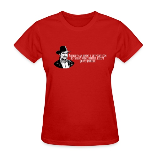 Bruce Schneier Fact - Women's T-Shirt