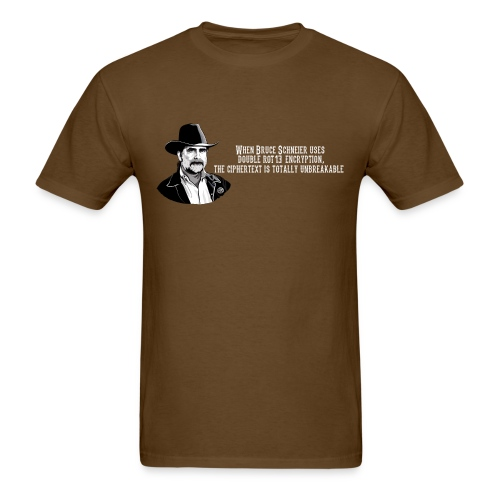 Bruce Schneier Fact - Men's T-Shirt