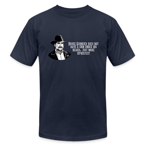 Bruce Schneier Fact - Men's Jersey T-Shirt