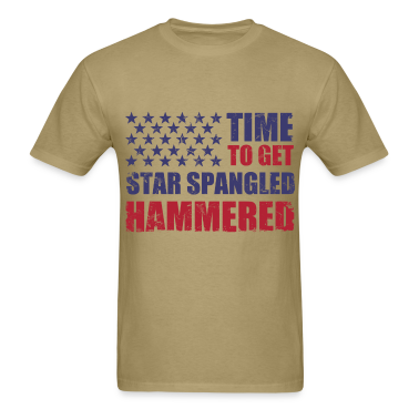 time_to_get_star_spangled_hammered T-Shirts