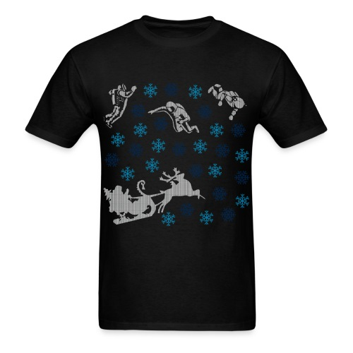 Spaceman Christmas - Men's T-Shirt