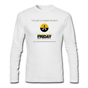Post Ignorance Project - Yellow & Black Friday - Men's Long Sleeve T-Shirt by Next Level