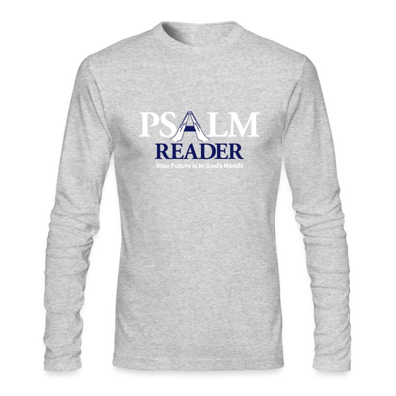 Psalm Reader - Men's Long Sleeve T-Shirt by Next Level