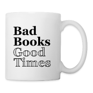 Mugs & Drinkware ~ Coffee/Tea Mug ~ Bad Books, Good Times Logo - mug