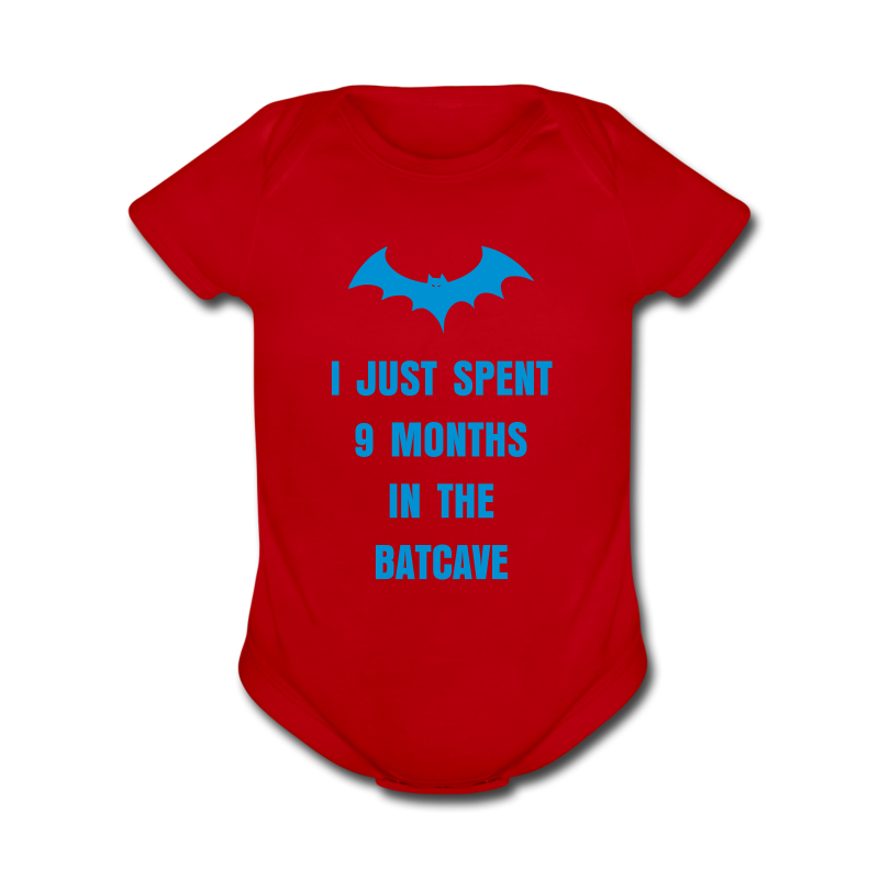 Baby Batcave   - Short Sleeve Baby Bodysuit