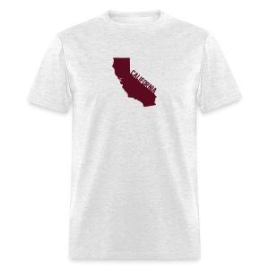 California ShapeText Light - Men's T-Shirt