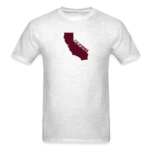 California ShapeText Light - Men's T-Shirt
