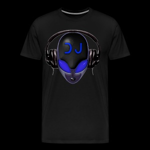Alien DJ - Blue - Hard Shell Bug - T-shirt - Men's Premium T-Shirt