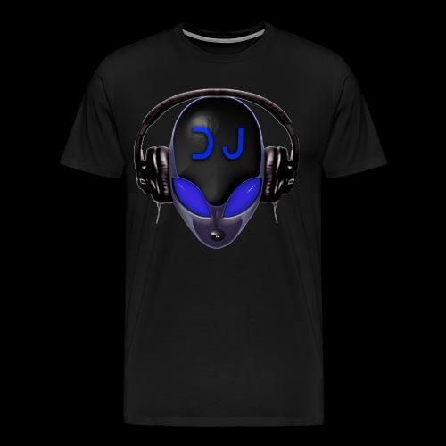 Alien DJ - Blue - Hard Shell Bug - T-shirt - Men's Premium T-Shirt