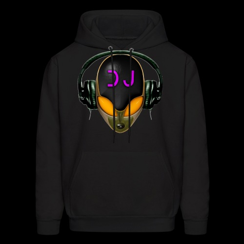 Alien Futuristic DJ with Headphones - Orange Style
