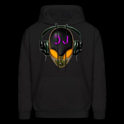 Alien DJ - Orange - Hard Shell Bug - Hoodie - Men's Hoodie