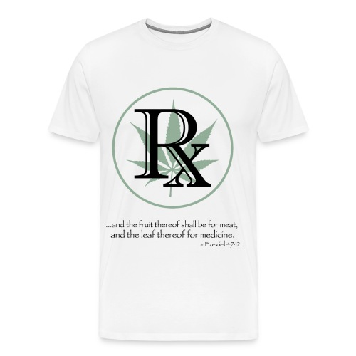 RX Cannabis TShirt - Men's Premium T-Shirt