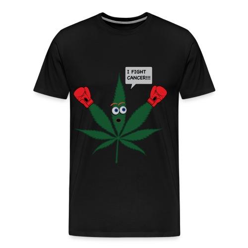 Cannabis Fights Cancer - Men's Premium T-Shirt