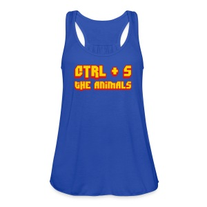 CTRL + S The Animals Women's Flowy Tank - Women's Flowy Tank Top by Bella
