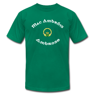 T-Shirts ~ Men's T-Shirt by American Apparel ~ Ambrose Family Claddagh Tee for Men