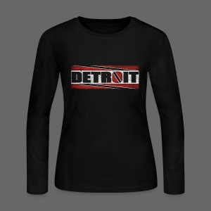 Detroit Trinidad and Tobago - Women's Long Sleeve Jersey T-Shirt