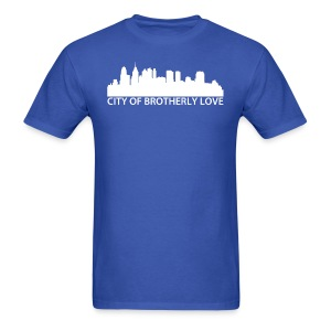 City of Brotherly Love Skyline - Men's T-Shirt