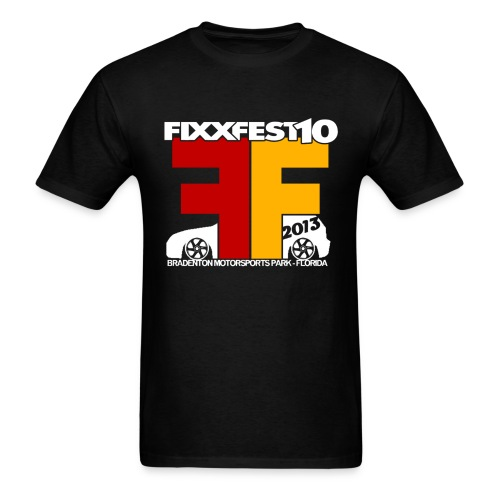 FixxFest 10 Black - Men's T-Shirt