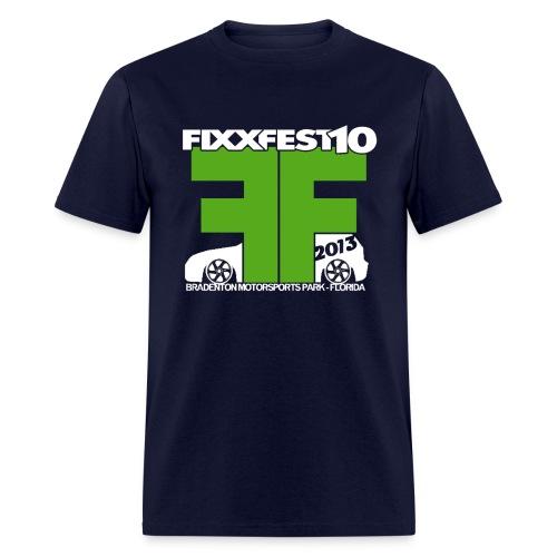 FixxFest 10 Green - Men's T-Shirt