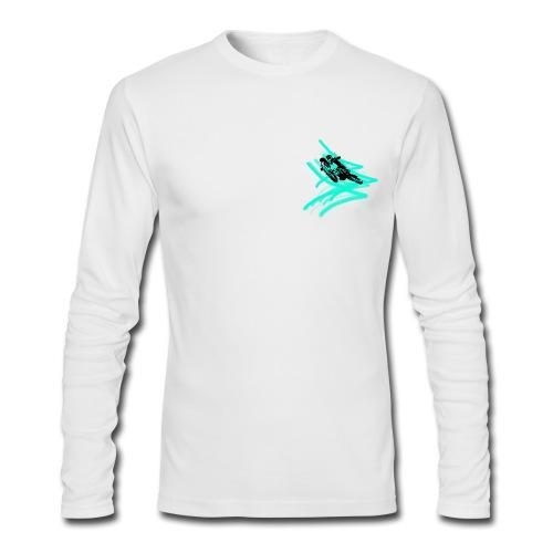 motocross is my life t shirt - Men's Long Sleeve T-Shirt by Next Level
