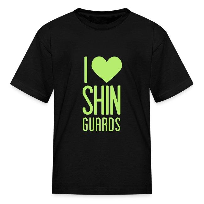 I Heart Shin Guards Youth Tee