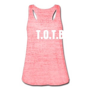 T.O.T.B. lady - Women's Flowy Tank Top by Bella