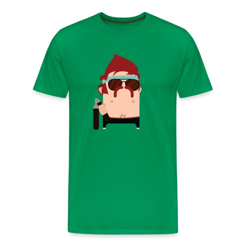 Nunchuck Charlie - Men's Premium T-Shirt