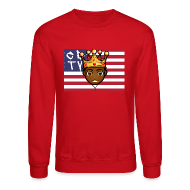 Long Sleeve Shirts ~ Crewneck Sweatshirt ~ CBTV Tee Shirt