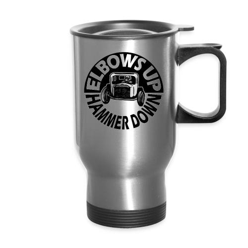 Elbows Up Hammer Down Coffee Mug - Travel Mug