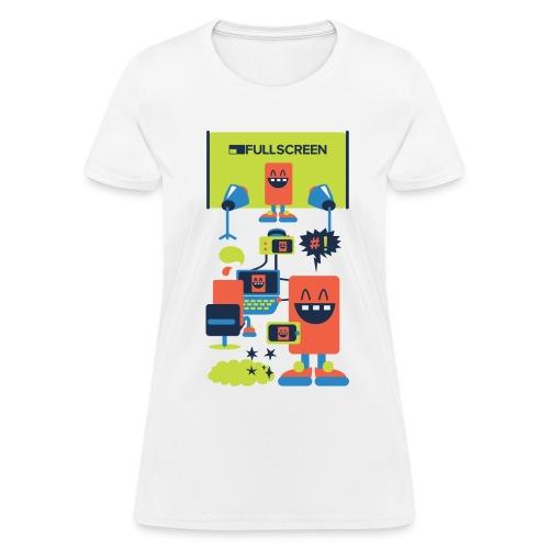 Fullscreen Bots Women's T-Shirt - Women's T-Shirt