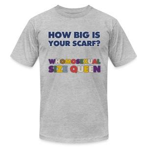 American Apparel T-Shirt (Size Queen) - Men's Fine Jersey T-Shirt