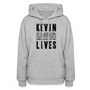Kevin Lives (Design by Anna) - Women's Hoodie