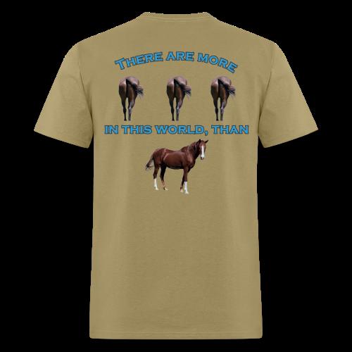 Men's Standard Wt. Horses A$$ T - Men's T-Shirt