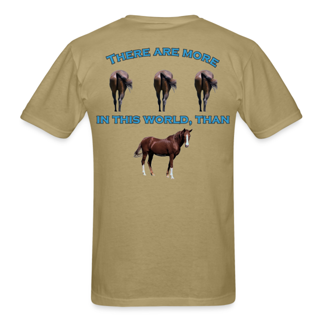 Men's Standard Wt. Horses A$$ T