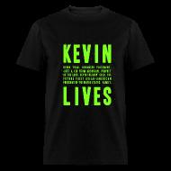 T-Shirts ~ Men's T-Shirt ~ Kevin Lives (Design by Anna)