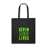 Bags & backpacks ~ Tote Bag ~ Kevin Lives (Design by Anna)