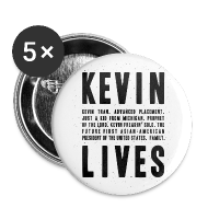 Buttons ~ Large Buttons ~ Kevin Lives (Design by Anna)