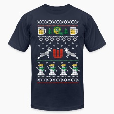 CHRISTMAS IN WISCONSIN T-Shirts