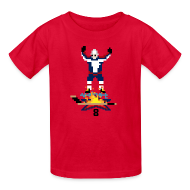 Kids' Shirts ~ Kids' T-Shirt ~ 8-Bit Hot Stick Kid's T-Shirt