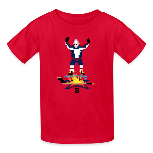 8-Bit Hot Stick Kid's T-Shirt - Kids' T-Shirt